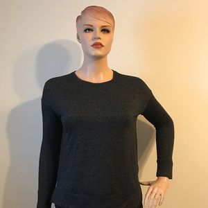 32 Degrees Tops - NWT 32 Degrees Pullover Charcoal Gray Sweatshirt